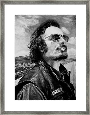 Kim Coates Framed Print by Stan Antonio