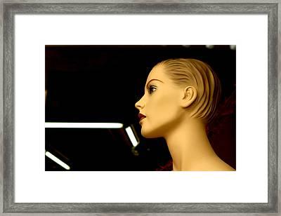 Kim Framed Print by Jez C Self