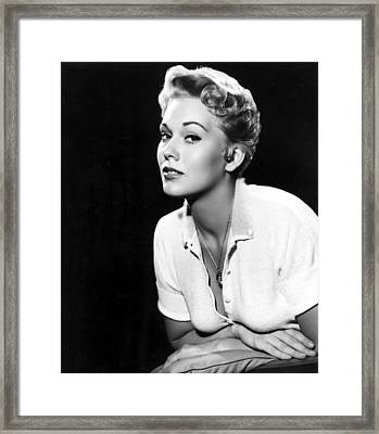 Kim Novak,1956 Framed Print by Everett