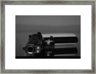 Kimber 45 Framed Print