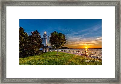 Kimberly Point Framed Print by Andrew Slater