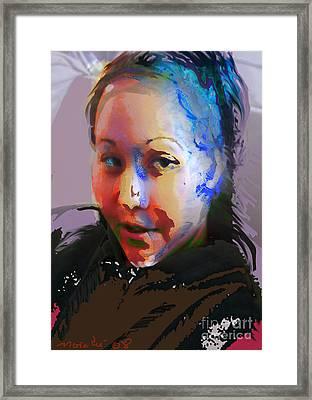 Kime Framed Print by Noredin Morgan