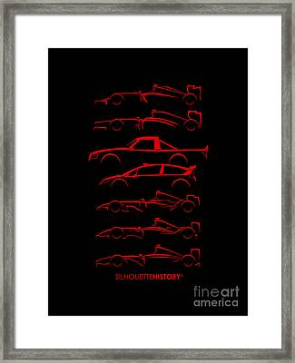 Kimi Resume Silhouettehistory Framed Print by Gabor Vida