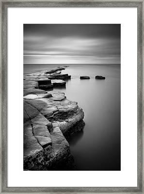 Kimmeridge Bay II Framed Print