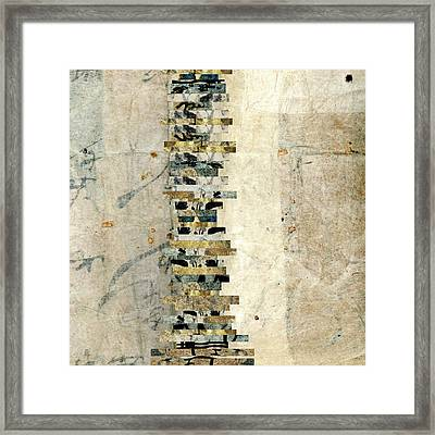 Kimono Package Montage 5 Framed Print by Carol Leigh
