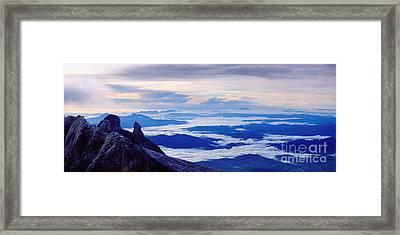 Kinabalu Panorama Framed Print