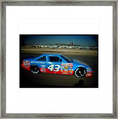 Kind Richard At Speed Framed Print by Paolo Govoni