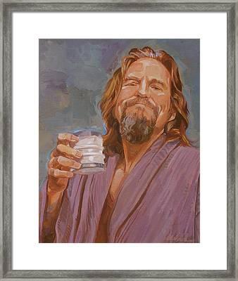 Kinda Early For Coffee Framed Print by Shawn Shea