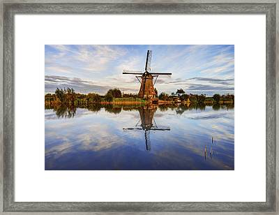 Kinderdijk Framed Print by Chad Dutson