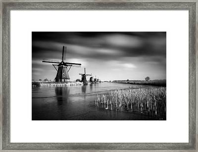 Kinderdijk Framed Print by Dave Bowman