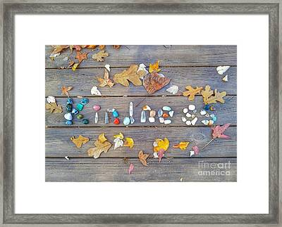 Kindness Framed Print