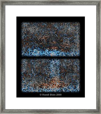 Kindred Framed Print by Mandi Blais