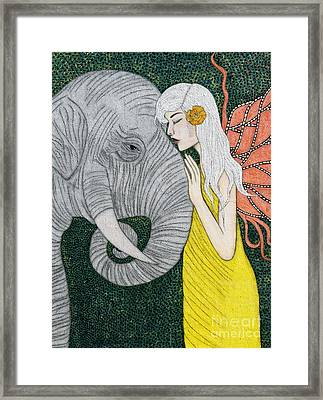 Kindred Souls Framed Print by Natalie Briney