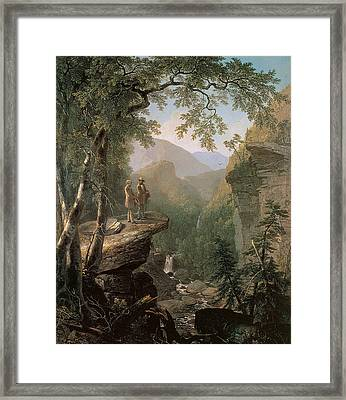 Kindred Spirits Framed Print by Asher Brown Durand