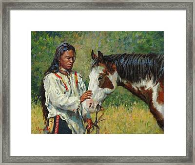 Kindred Spirits Framed Print by Jim Clements