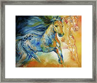 Kindred Spirits  Framed Print by Marcia Baldwin