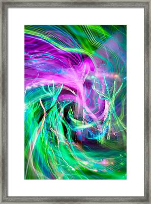 Kinetic Framed Print by Az Jackson