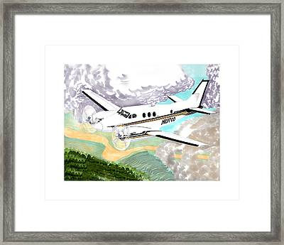 King Air 90 Framed Print by Jack Pumphrey