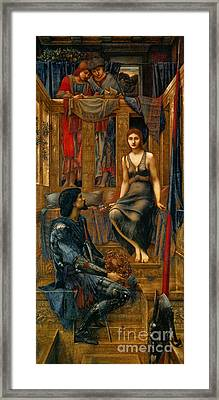 King And Beggar Maid 1883 Framed Print by Padre Art