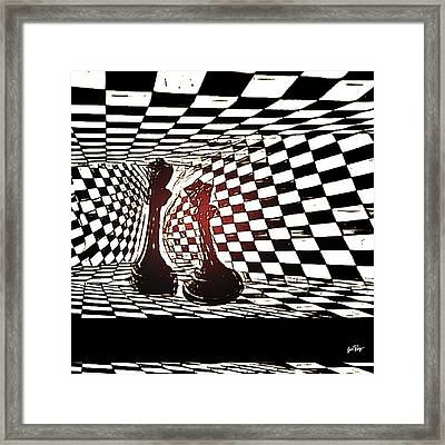 King And Queen Framed Print by Jennifer Page