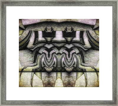 King And Queen Of The Insect World Framed Print