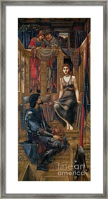 King Cophetua And The Beggar Maid Framed Print by Celestial Images