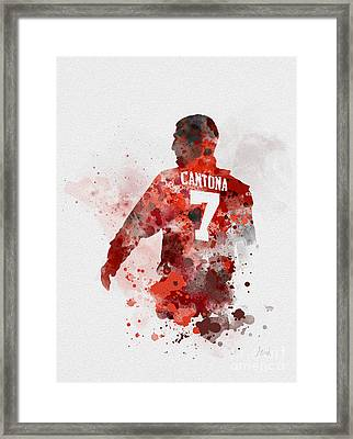 King Eric Framed Print