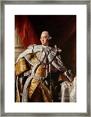 King George IIi Framed Print