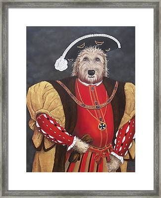 King Gunther The 8th Framed Print by Diane Daigle