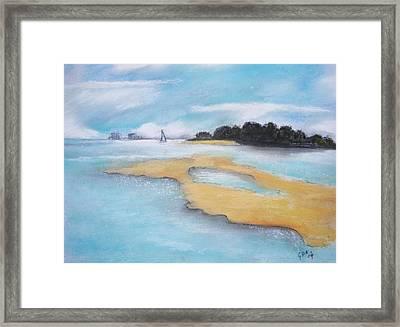 King Island Framed Print