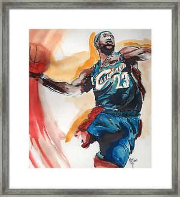 King James Framed Print by Matt Burke