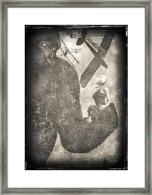 King Kong Framed Print