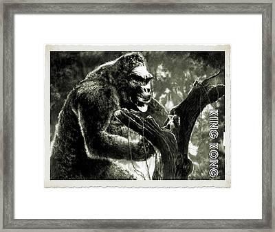 King Kong Framed Print by John Springfield