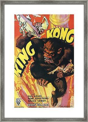 King Kong Framed Print by Georgia Fowler