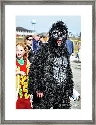 King Kong Framed Print by Yvette Wilson