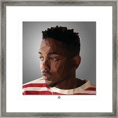 King Kunta Framed Print by Joel Escamilla