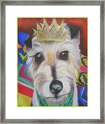 King Louie Framed Print by Michelle Hayden-Marsan