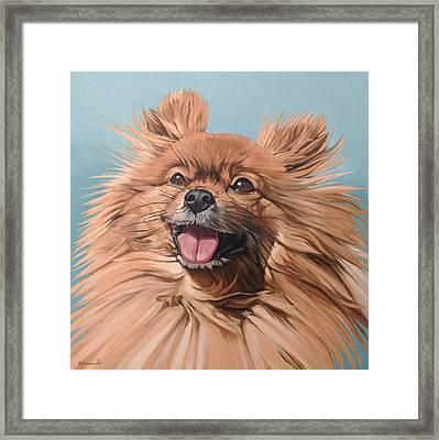King Louie Framed Print