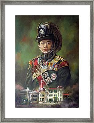 King Mongkut Framed Print