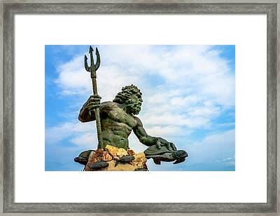 King Neptune Framed Print