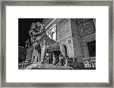 King Of Art Framed Print