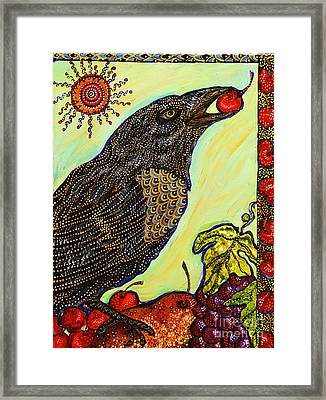 King Of Bing Framed Print by Melissa Cole