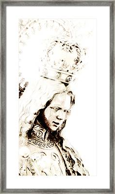 King Of Kings And Lord Of Lords Framed Print by Linda Shafer