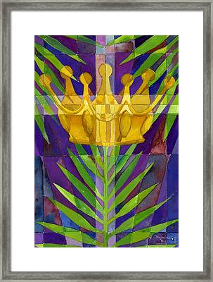 King Of Kings Framed Print by Mark Jennings