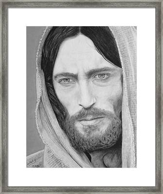King Of Kings Framed Print by Miguel Rodriguez