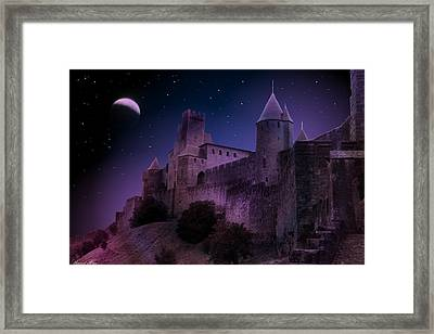 Framed Print featuring the photograph King Of My Castle by Bernd Hau