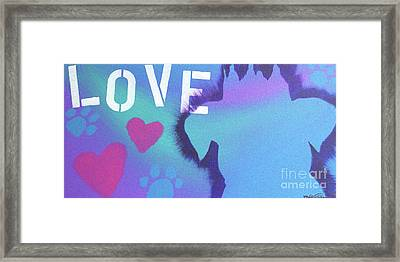 King Of My Heart Framed Print by Melissa Goodrich