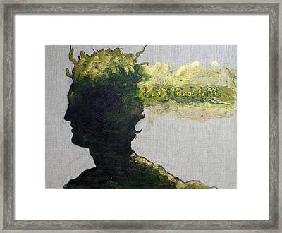 King Of Pentacles Framed Print by Erika Brown