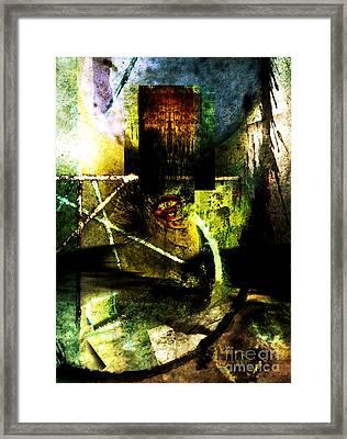 King Of Sadness Framed Print