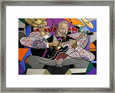 King Of The Blues Framed Print